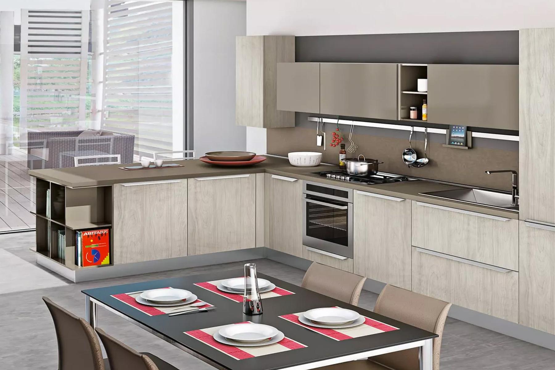 Cucine Componibili Con Angolo cucina ad angolo, le nostre idee per ottimizzare il vostro